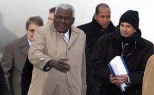 Who is in Copenhagen ? COP15 Cuban Vice President: Esteban Lazo Hernandez