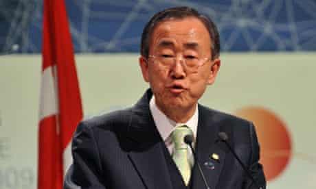 COP15 UN Secretary-General  Ban Ki-Moon