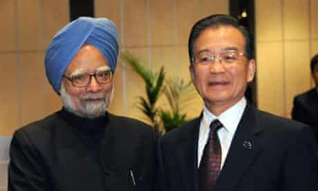 COP15 : Indian Prime Minister Manmohan Singh and Chinese Premier Wen Jiabao