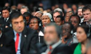 COP15 : Delegates listen to speeches