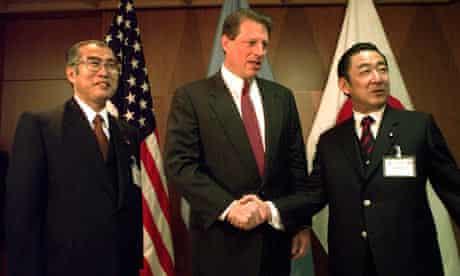 COP15 Kyoto agreement : Al Gore Ryutaro Hashimoto Keizo Ouchi