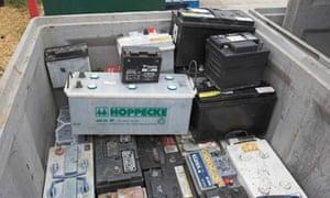 New EU regulations for battery disposal | Environment | The Guardian