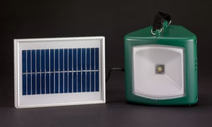 The last object of Radio 4 History of the world in 100 objects: a  solar powered lamp and charger
