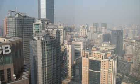 Damian blog : Chinese mega cities: Chongqing, Sichuan, China