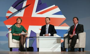 Conservative Party Conference : Caroline Spelman, Greg Barker and  Oliver Letwin