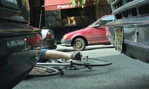 Bike blog: bike fall