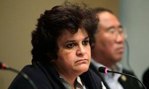 Brazil's Minister of Environment Isabella Teixeira