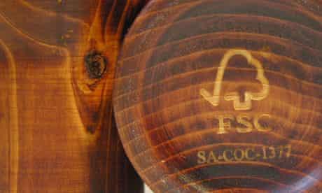 FSC, Forest Stewardship Council, wooden cups