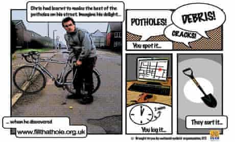 Bike blog: Fill that Hole