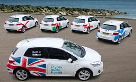 Toyota takes real-world hybrid technology to the RAC Brighton to London Future Car Challenge