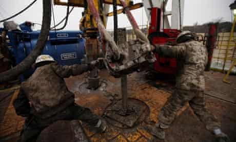 Hydraulic fracturing in the Barnett Shale field of Fort Worth, Texas