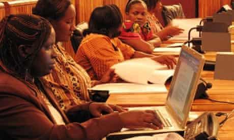 MDG : Women MP in Rwanda