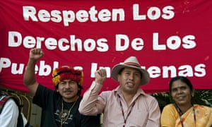 Cancun COP16: Indigenous people protest