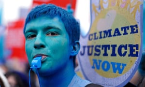 COP16 : climate march in London