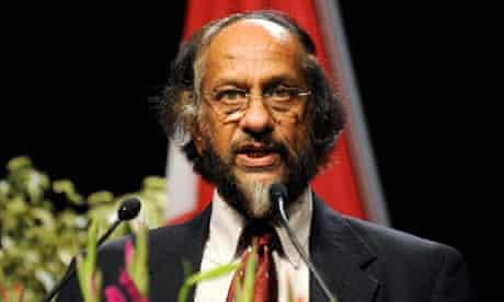 IPCC Chairman, Rajendra Pachauri in Geneva