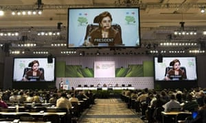 Cancun Cop16 : Mexican Foreign Secertary, Patricia Espinosa, MDG