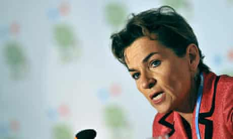 Cancun COP16 : Christiana Figueres of  United Nations Climate Change Conference in Cancun
