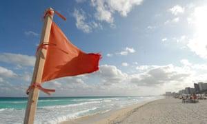 Cacun COP16 : Cancun beach