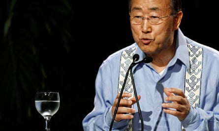 Cancun COP16 : UN General Secretary Ban Ki-moon