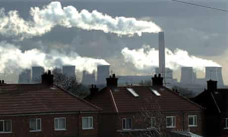 Air pollution : UK carbon emissions
