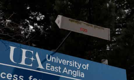Buildings of the Faculty of Environmental Sciences, University of East Anglia, UEA, in Norwich
