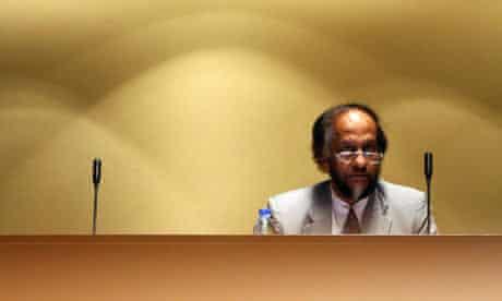 Climategate : Chairman of the Intergovernmental Panel on Climate Change (IPCC), Rajendra Pachauri