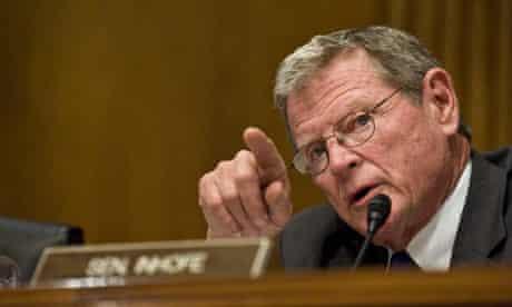 Senate Panel Holds Hearing on Climate Change : James Inhofe