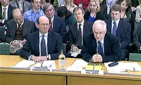 Emails and disclosure of data : Professor Edward Acton and Professor Phil Jones