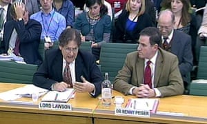 Science and Technology Committee: Lord Lawson, Dr Benny Peiser