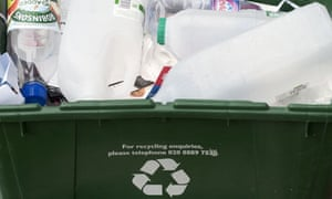Residential recycling box, London