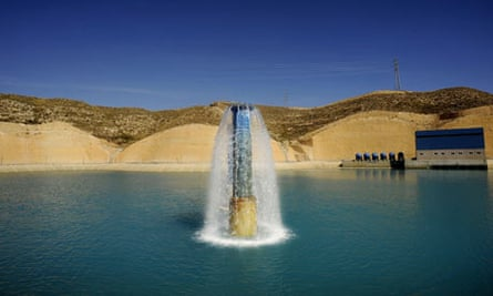 desalination plant in Carboneras, near Almeria, southern Spain