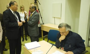 COP15 : head of the Chinese Delegation Xie Zhenhua and Indian Environment Minister Jairam Ramesh