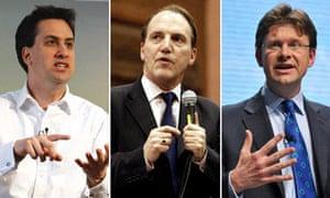 Ask the ministers : Ed Miliband, Simon Hughes and Greg Clark
