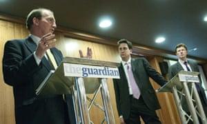 Ask the ministers: Ed Miliband, Greg Clark and Simon Hughes