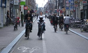 Bike blog : Amsterdam's cycle lanes are safe for family rides