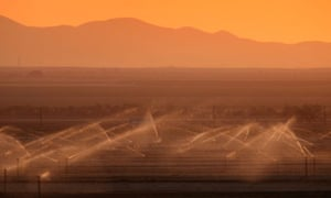 Global Water shortage : California's Fertile Central Valley Suffers From Statewide Drought