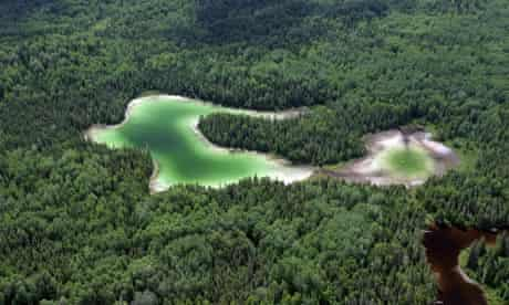 Canadian Boreal Forest Agreement : Boreal Forest in Northern Ontario, Canada