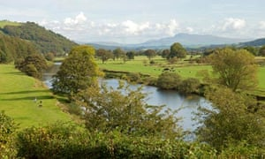 northern England faces a drought : River Lune, Lancaster