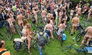 Bike blog : the Naked Bike Ride in London