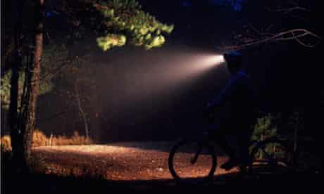bike blog : Night Bicycling with Strong Headlamp