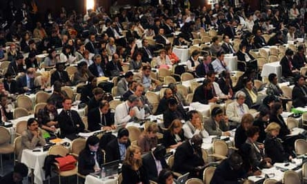 Bonn Climate Talks: opening AWG-LCA plenary session