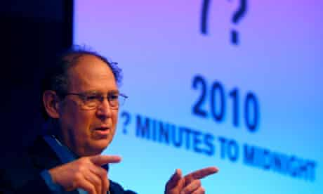 Stephen Schneider, member of Bulletin of the Atomic Scientists and Doomsday Clock