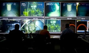 BP Deepwater Horizon oil spill command center in Houston