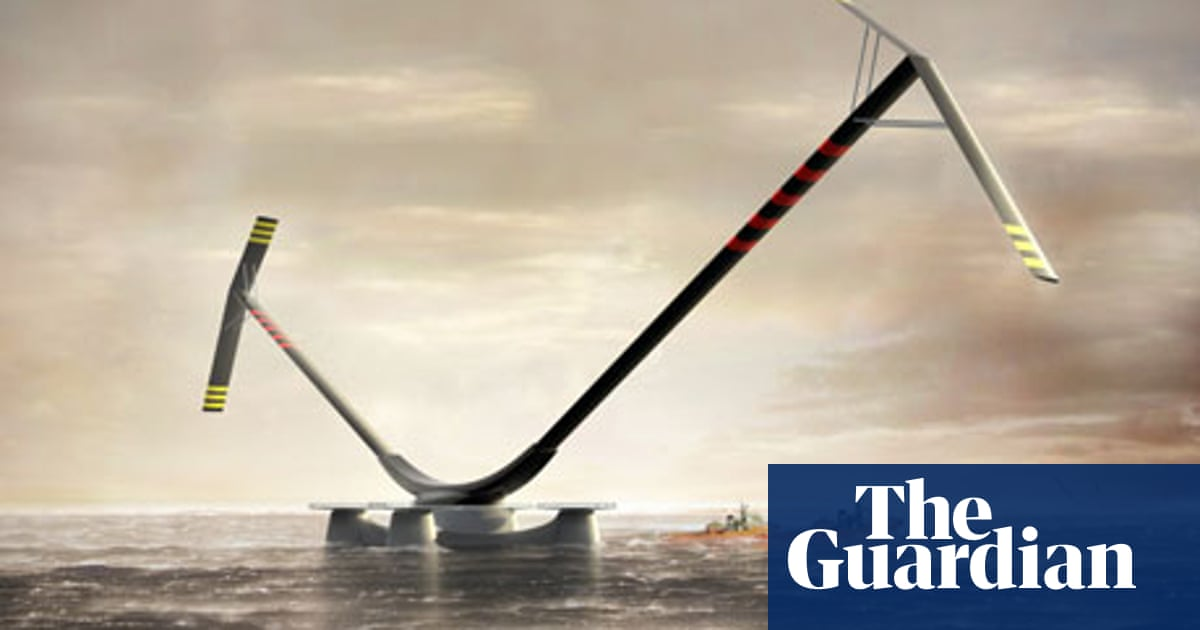 Engineers race to design world's biggest offshore wind turbines