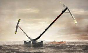 10MW Aerogenerator X offshore turbine design