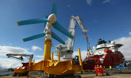 World's Largest Tidal Power Turbine Is Unveiled