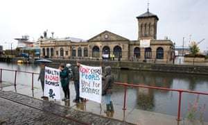 A group of  Climate Camp activists have just targetted Forth Port Authority.