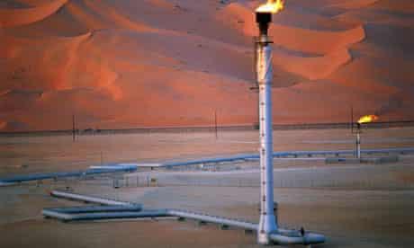 Saudi Arabian oil field