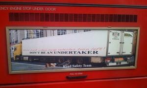 Bike blog : Advert on a bus