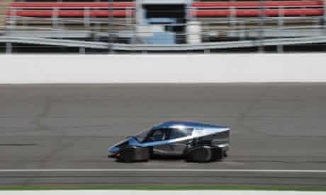 The Edison2 Very Light Car winner of the 2010 Progressive Insurance Automotive X Prize